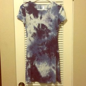 American Apparel tie die dress